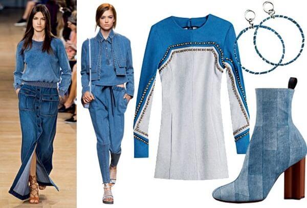combinacao jeans azul - Como combinar acessórios com a roupa? Veja 7 dicas!