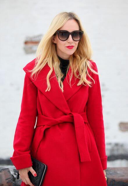 look vermelho vivo - Conheça a paleta de tons para o inverno 2018!